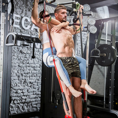 Advanced FITNESSAFE™️ PULL UP resistance band couple