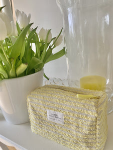 Trousse de Toilette - Sweet Tweedy Jaune