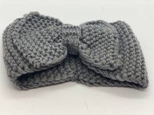 Load image into Gallery viewer, Big Bow Knitted Winter Bandeau