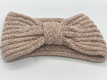 Load image into Gallery viewer, Chenille Knot Winter Bandeau