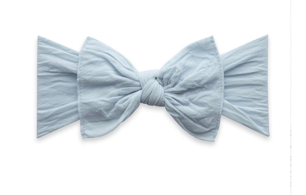 Baby Bling Chambray Knot
