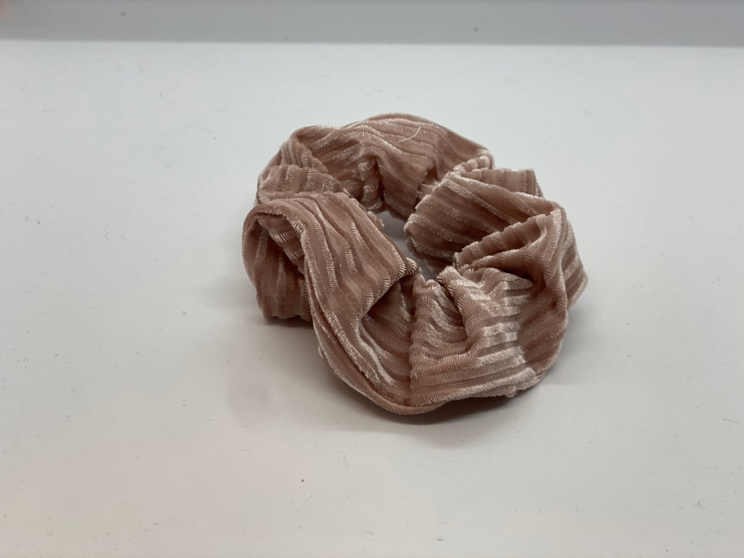 Ribbed Velvet Scrunchie