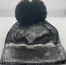 Load image into Gallery viewer, Faux Fur Metallic Hat
