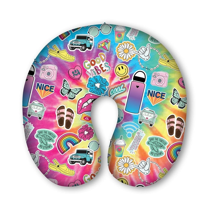 Good Vibes Travel Pillow
