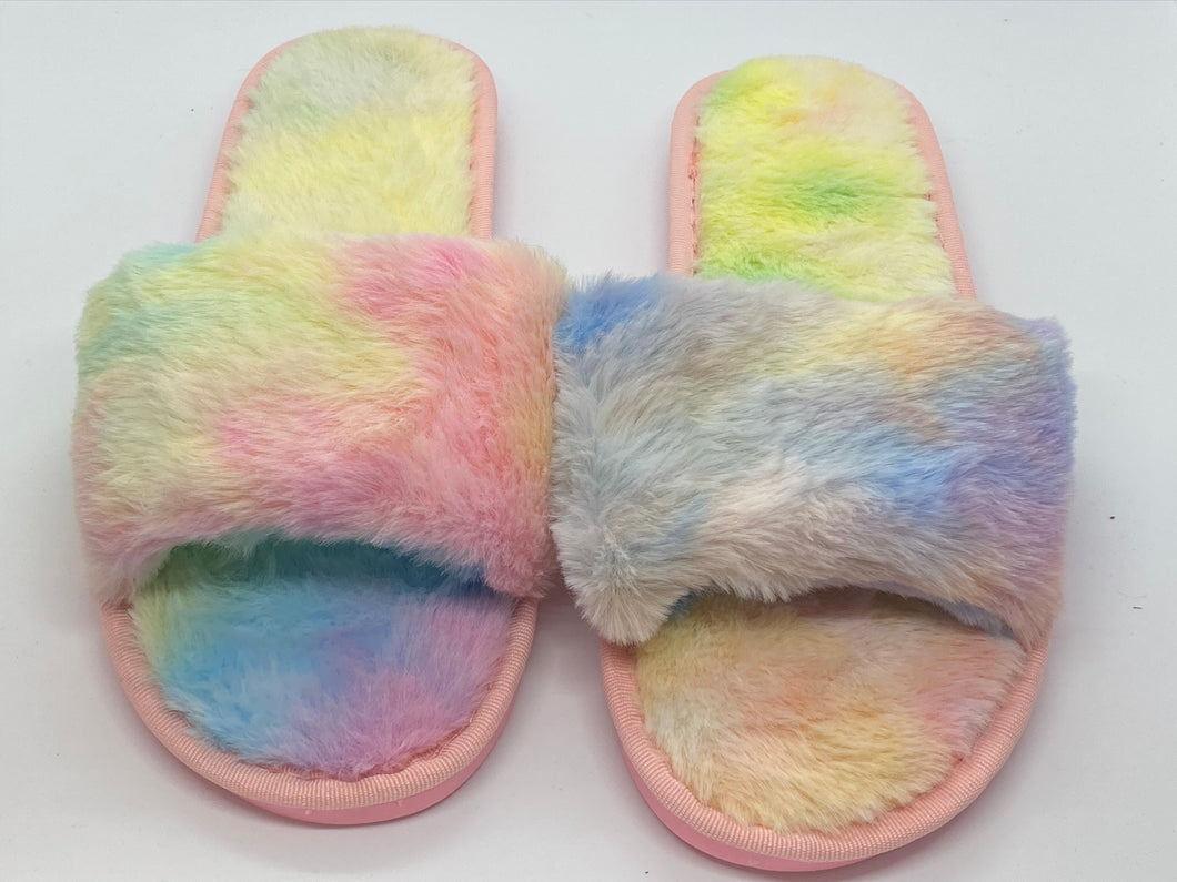 Tie Dye Slide Slippers