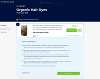 BestReviews.Guide 10 Best Organic Hair Dyes of January 2021 ONC NATURALCOLORS is ranked number one