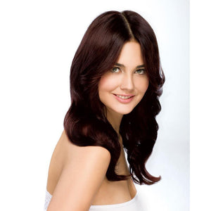 ONC NATURALCOLORS 4MC Glamorous Brown Hair Dye With Organic Ingredients Modelled By A Girl
