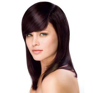 ONC NATURALCOLORS 4M Medium Mahogany Brown Hair Dye With Organic Ingredients Modelled By A Girl