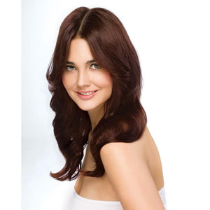 ONC NATURALCOLORS 5R Rich Copper Brown Hair Dye With Organic Ingredients Modelled By A Girl