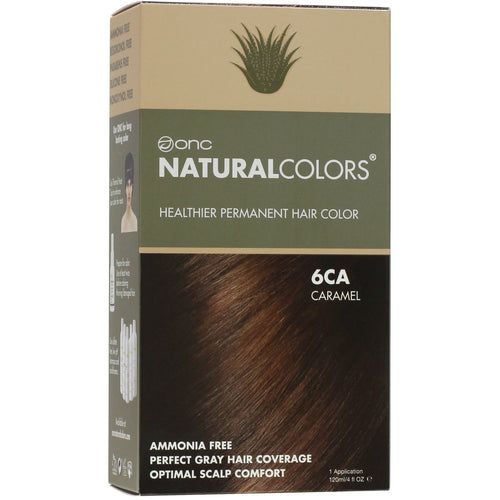 ONC NATURALCOLORS 6CA Caramel Hair Dye With Organic Ingredients 120 mL / 4 fl. oz.