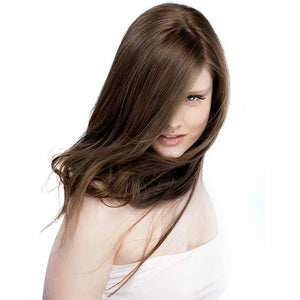 ONC NATURALCOLORS 6N Natural Dark Blonde Hair Dye With Organic Ingredients Modelled By A Girl