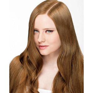 ONC NATURALCOLORS 7G Medium Golden Blonde Hair Dye With Organic Ingredients Modelled By A Girl