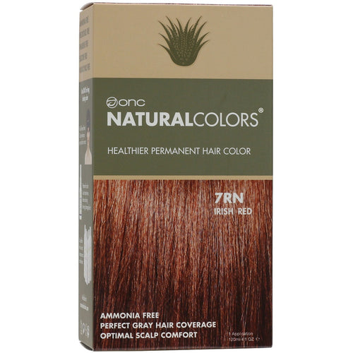 ONC NATURALCOLORS 7RN Irish Red Hair Dye With Organic Ingredients 120 mL / 4 fl. oz.