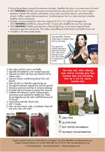 ONC 2-Step Process for Hair Brochure Back