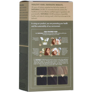 ONC NATURALCOLORS 4B Bitter Chocolate Hair Dye Box Back