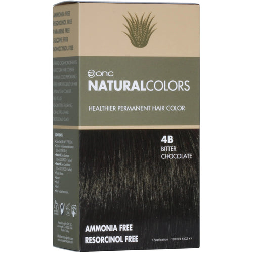 ONC NATURALCOLORS 4B Bitter Chocolate Hair Dye