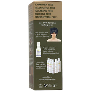 ONC NATURALCOLORS 4M Medium Mahogany Brown Hair Dye With Organic Ingredients 120 mL / 4 fl. oz.