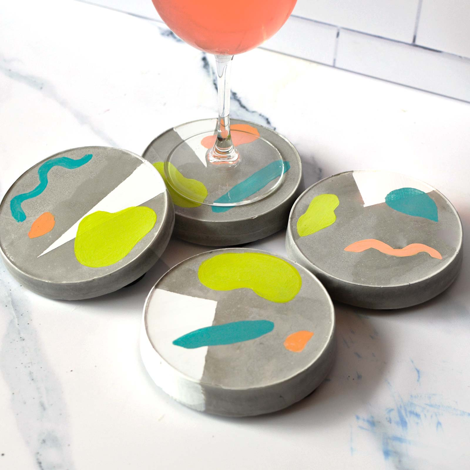 Concrete Coasters DIY Kit