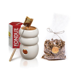 Fondue Tower & Chocolate Chunks - Max Brenner utensils