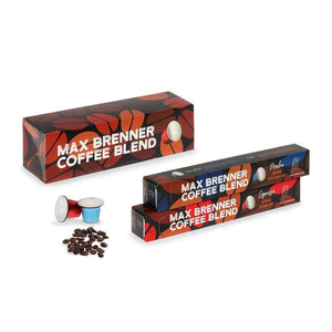 Pack of capsules of coffee blend
