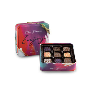 ENJOY 9 PRALINES - Chocolate box