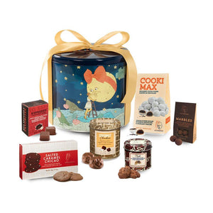 Festive Medium chocolate box gift