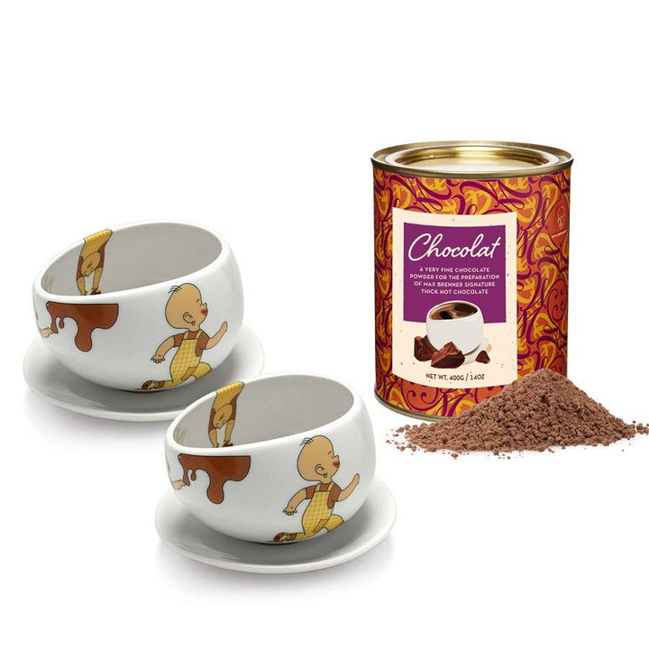 Hot chocolate cups & Chocola - Max Brenner Hug Mug