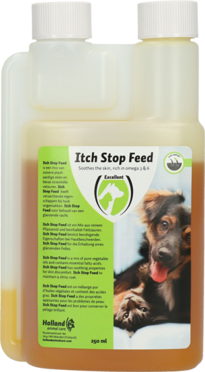 Opriti scarpinarea supliment alimentar Itch Stop Feed Dog and Cat 250ml