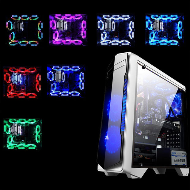 RGB Light CPU Cooling Fan
