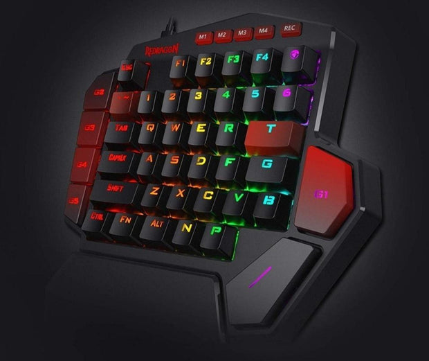 LED Left Hand Mini Keypad