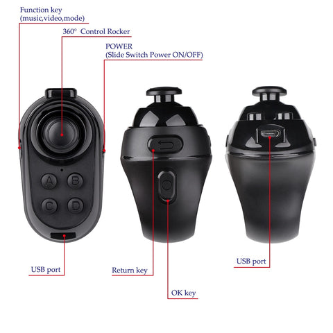 Bluetooth Finger Game Controller