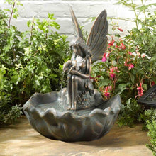 Load image into Gallery viewer, Smart Solar Fairy Leaf Fountain
