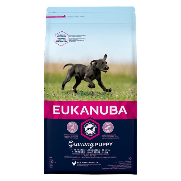 Eukanuba Growing Puppy Large Breed Chicken 2kg