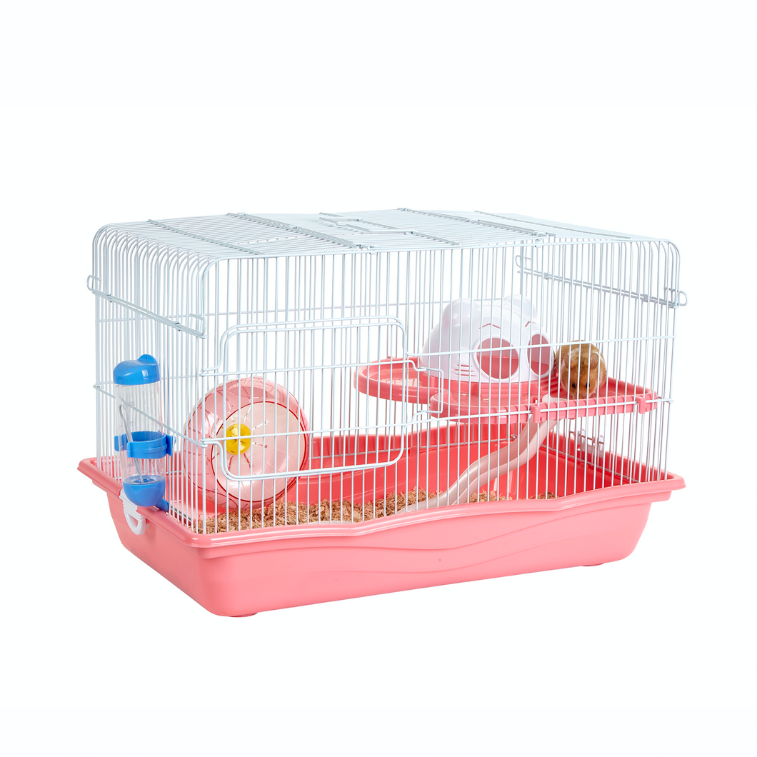Harry Pink Small Animal Cage