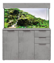 Load image into Gallery viewer, AquaOne OakStyle Industrial Concrete 230 Aquarium & Cabinet