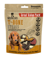 Load image into Gallery viewer, T-Bone Dog Treats 14pcs Value Pack 295g