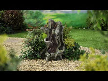 Load and play video in Gallery viewer, Kelkay Woodland Twist Water Feature