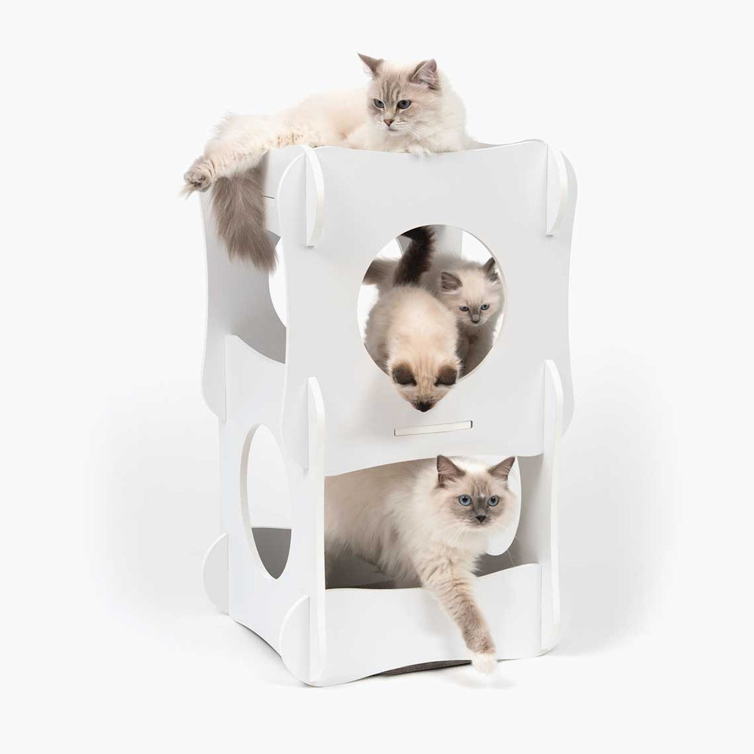 Catit Vesper Condo Tower White