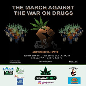 The March To End The War On Drugs Recap