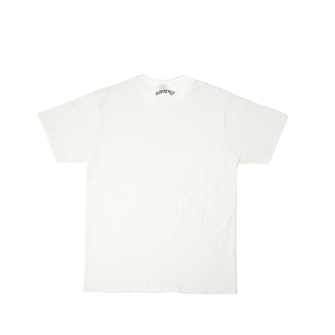 Happy Munkey Logo T Shirt - White