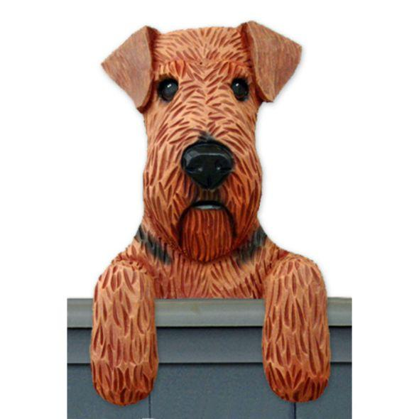 Airedale Dog Door Toppers