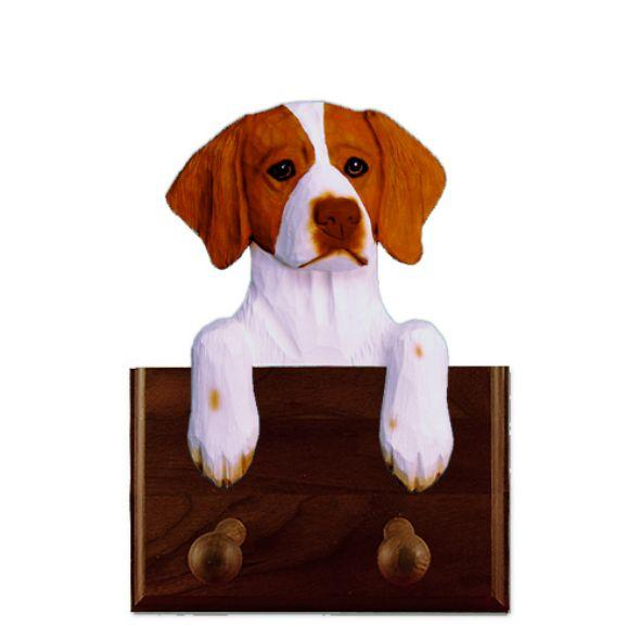 Brittany Dog Leash Holder