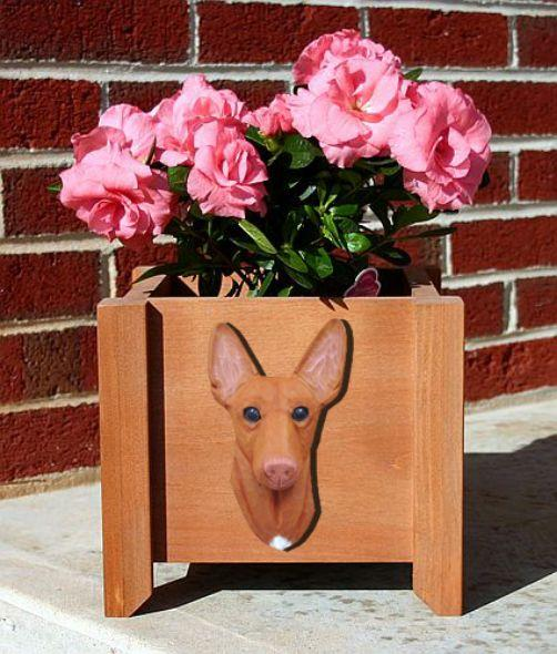 Handmade Pharaoh Dog Planter Box