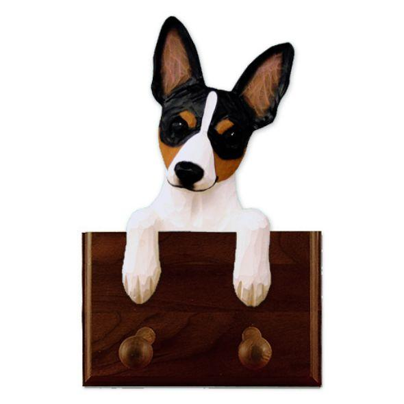 Rat Terrier Dog Leash Holder