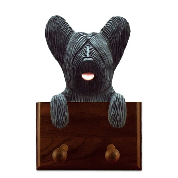 Skye Terrier Dog Leash Holder