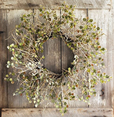 Hanging Birch Branch Wreath - Shugar Plums Gift Store