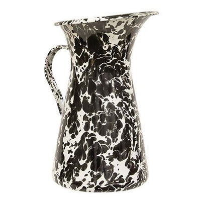 Black/White Splatter Pitcher