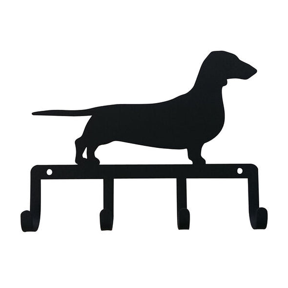Wrought Iron Decorative Dachshund Key Holder