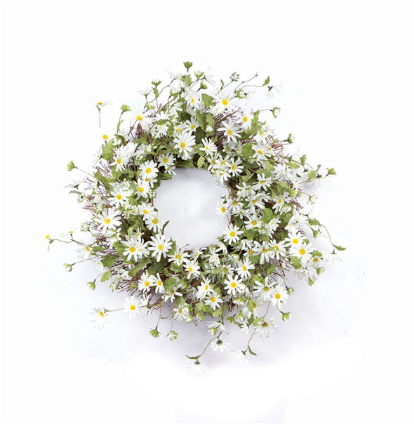 Daisy Spring Wreath - Front Door Wreath