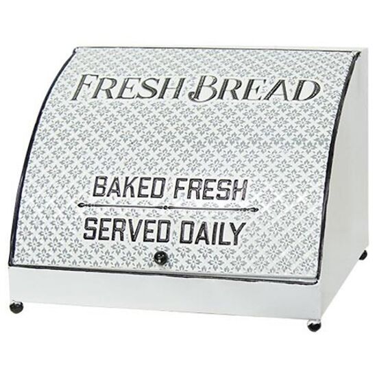 Embossed Old Fashioned Bread Box
